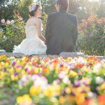 寒さに負けず、早春の花とフォトウエディングはいかがですか